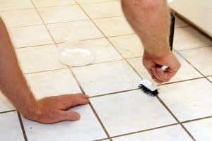 nettoyer les joint de carrelage